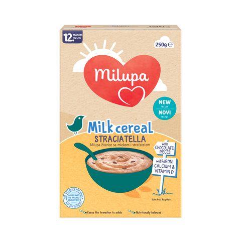 Milupa Stracciatella Cereal детска храна на зърнена основа, подходяща след 12-тия месец х250 грама
