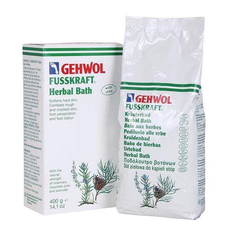 Gehwol Fusskraft Билкови соли за груби и нацепени пети х400 грама