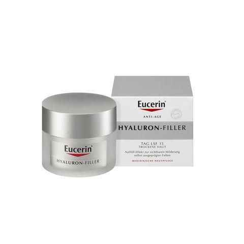 Eucerin Hyaluron-Filler Дневен крем за лице против бръчки за суха кожа SPF15 x50 мл