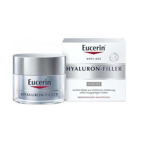 Eucerin Hyaluron-Filler Нощен крем за лице против бръчки x50 мл
