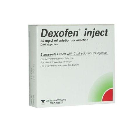 Дексофен инжект 50 mg/2 ml инжекционен/ инфузионен разтвор х1 ампула
