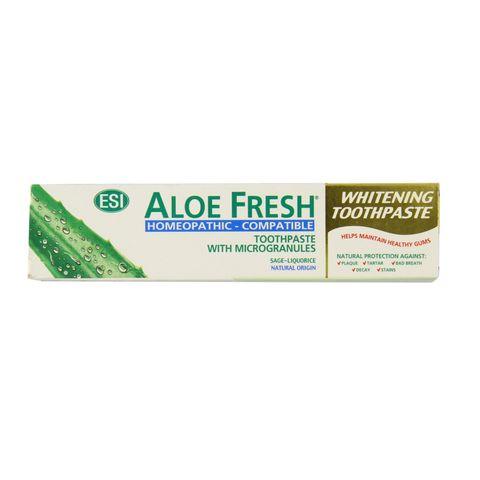 Esi Aloe Fresh Хомеопатична избелваща паста за зъби с микрогранули х100 мл