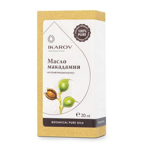 Икаров Натурално масло от макадамия с антиоксидантно действие х30 мл