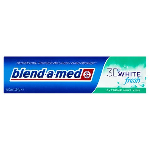 Blend-а-Med 3D White Fresh Extreme Mint Kiss Избелваща паста за зъби х100 мл