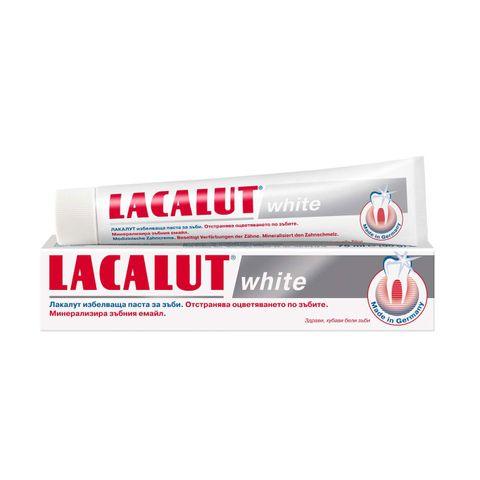 Lacalut White Избелваща паста за зъби х75 мл