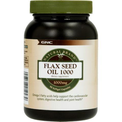 GNC Flax Oil Ленено Масло 1000 мг х90 капсули