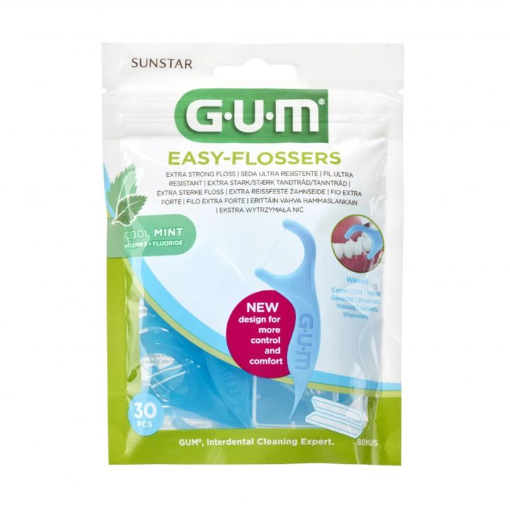 GUM Easy-Flossers Държатели за конец за зъби x30 броя