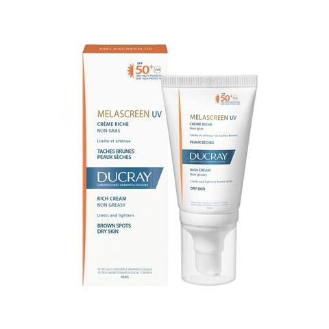 Ducray Melascreen UV Слънцезащитен богат крем за лице х40 мл