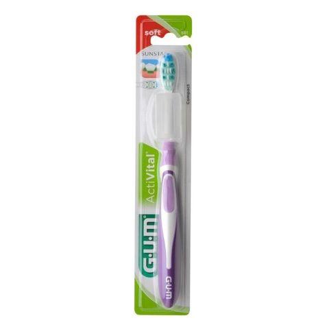 GUM ActiVital Soft Четка за зъби с мек косъм