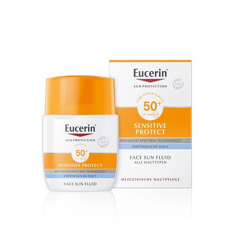Eucerin Sun Слънцезащитен матиращ флуид за лице SPF50+ x50мл