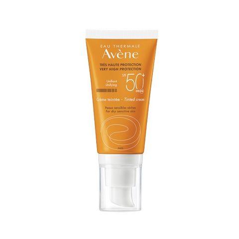 Avene Тониран крем за лице за чувствителна кожа SPF 50+ x50 мл