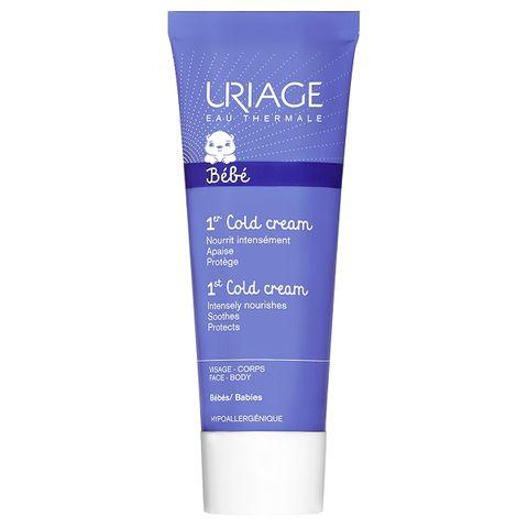 Uriage Bebe Cold Cream Интензивно подхранващ бебешки крем за лице и тяло x75 мл