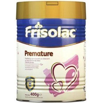 Frisolac Premature Мляко за преждевременно родени и родени с ниско тегло кърмачета x 400 грама