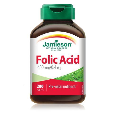 Jamieson Фолиева киселина 0,4мг х200 таблетки