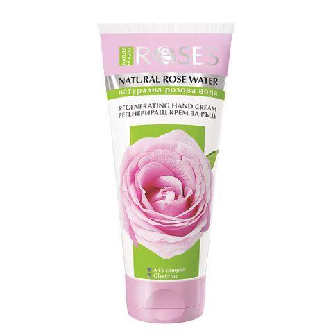Nature of Agiva Roses Регенериращ крем за ръце с натурална розова вода х75 мл