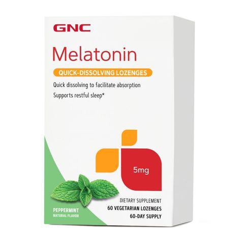 GNC Мелатонин 5 мг х60 сублингвални таблетки