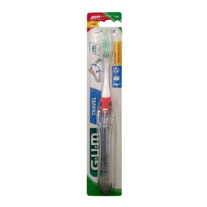 GUM Travel Soft Сгъваема четка за зъби