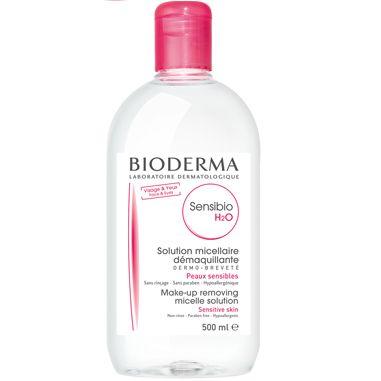 Bioderma Sensibio H2O Почистваща мицеларна вода за чувствителна кожа x500 мл