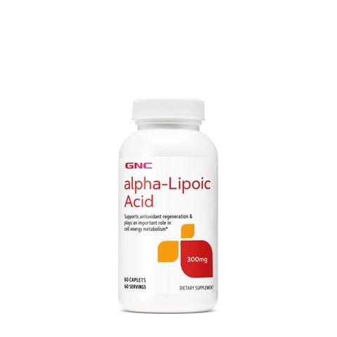 GNC Alpha Lipoic Acid Алфа Липоева киселина 300 мг х60 каплети