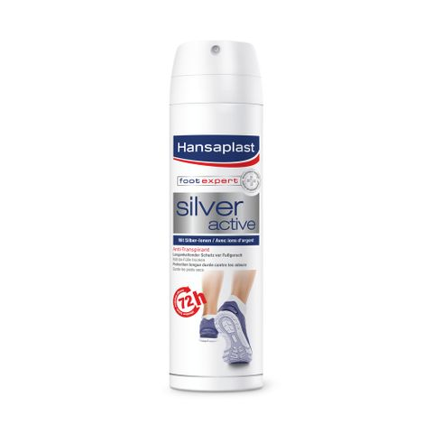 Hansaplast Silver Active Спрей за крака против изпотяване х150мл