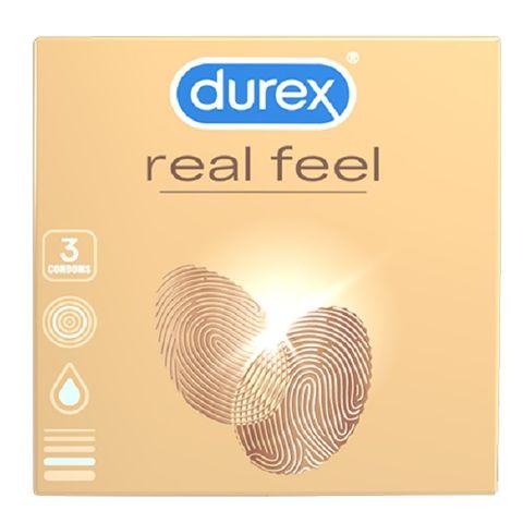 Durex Real Feel Презервативи х3 броя
