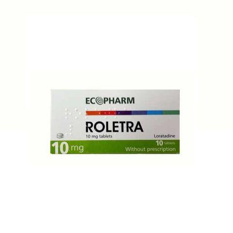Ролетра при алергии 10 мг х10 таблетки