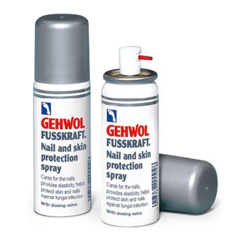 Gehwol Fusskraft Предпазващ и укрепващ спрей 2 в 1 за нокти и кожа х50 мл