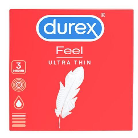 Durex Feel Ultra Thin Супер фини презервативи за максимално усещане х3 броя