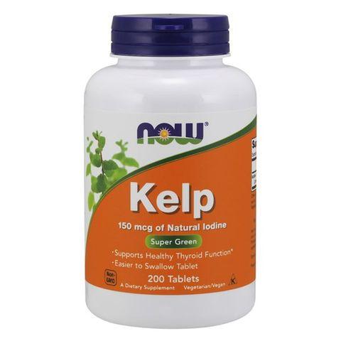 Now Foods Келп при проблеми с щитовидната жлеза х200 таблетки