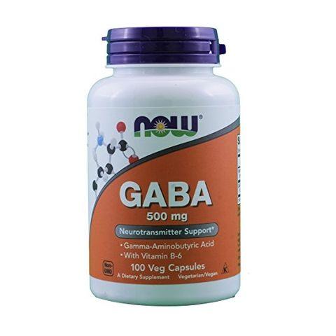 Now Foods Габа при проблеми със съня 500 мг х100 капсули