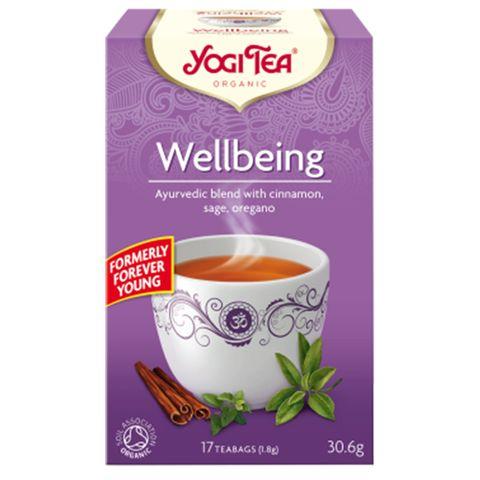 Yogi Tea Wellbeing Био Аюрведичен чай Вечно млад x17 пакетчета