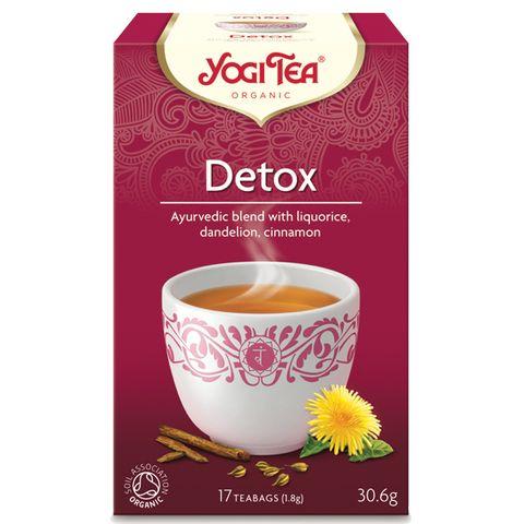 Yogi Tea Detox Био чай за детоксикация х17 пакетчета