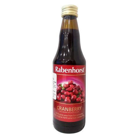 Rabenhorst Cranberry Натурален сок от Червена боровинка x330 мл