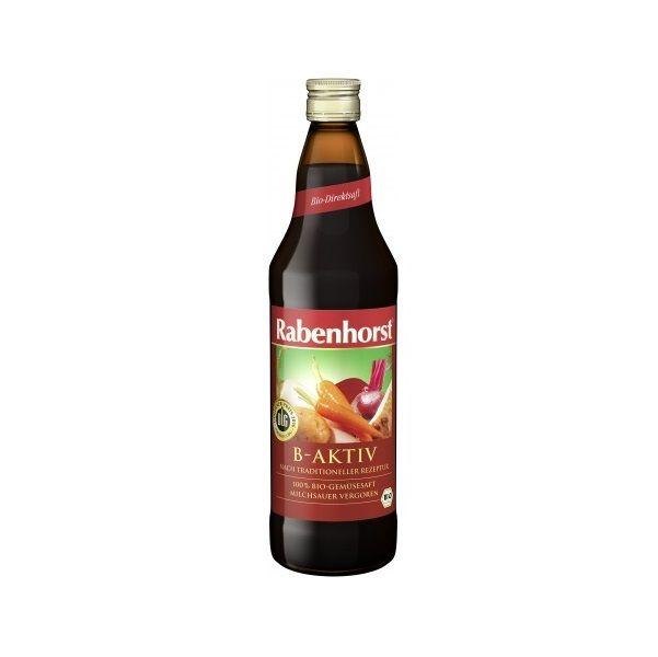 Rabenhorst B-Active Био зеленчуков сок х750 мл