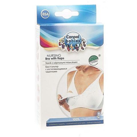 Canpol babies Сутиен за кърмене със свалящи се чашки - размер 85A