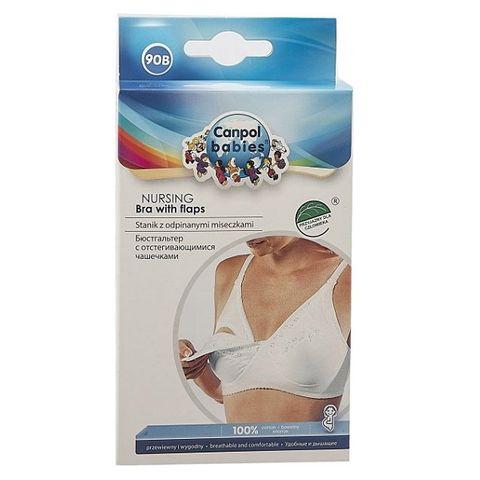 Canpol babies Сутиен за кърмене със свалящи се чашки - размер 90B