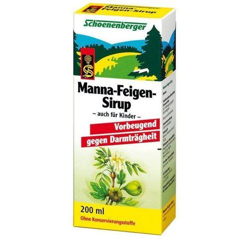 Schoenenberger Манно-смокинов био сироп при запек x200 милилитра