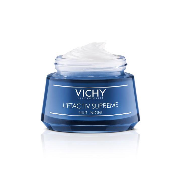 Vichy Liftactiv Supreme Нощен крем за лице против бръчки x50 мл
