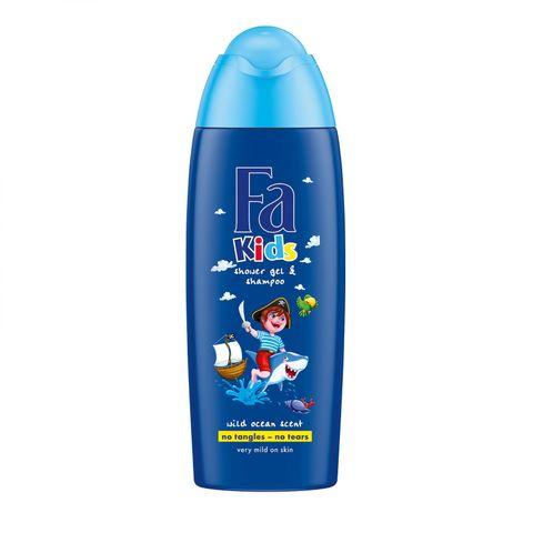 Fa Kids Fresh Scent Почистващ детски шампоан и душ-гел х250 мл