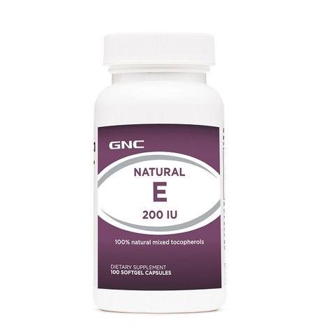 GNC Natural Vitamin E Натурален Витамин Е 200 IU х100 меки капсули