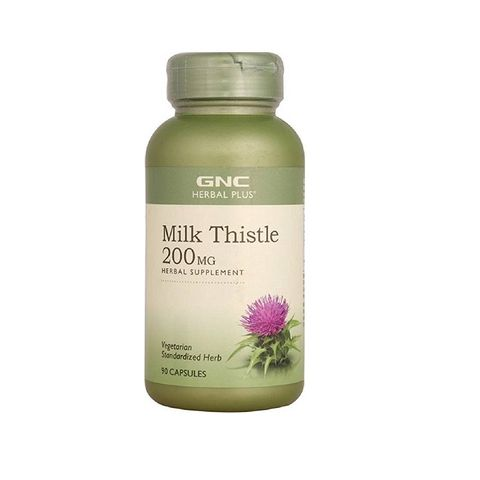 GNC Milk Thistle Бял трън за черен дроб 200мг х90 капсули