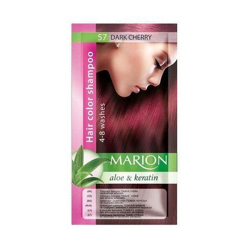 Marion Шампоан оцветител с алое вера и кератин, цвят 57