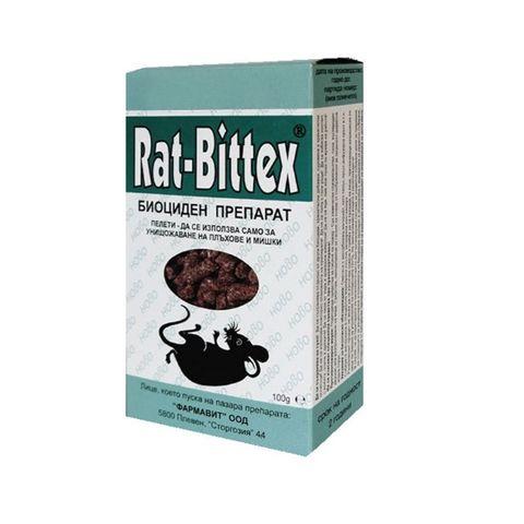 Rat-Bittex Примамка за гризачи x100 грама