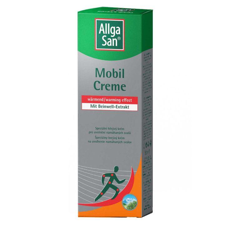 Алгасан Мобил Крем със загряващо действие при болки в мускулите и ставите х50 мл Naturprodukt
