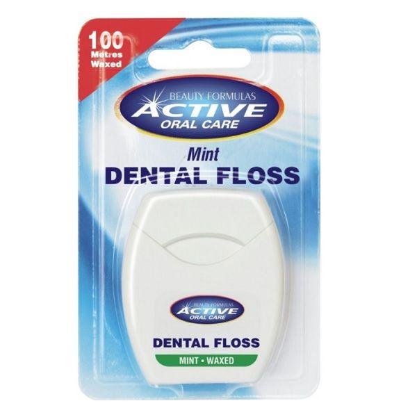 Beauty Formulas Active Oral Care Конец за зъби с мента x100 м