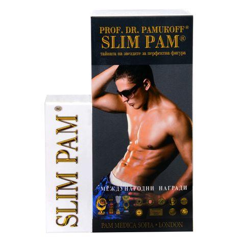 Слим Пам за мъже х30 капсули + 30 двойни филтърни сашета Проф. д-р Памуков
