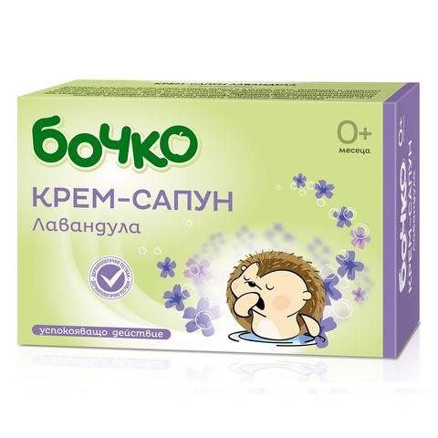Бочко Бебешки крем-сапун с лавандула х75 грама