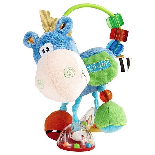 Playgro Дрънкалка кончето Хоп Троп за деца над 3 месеца - 0302