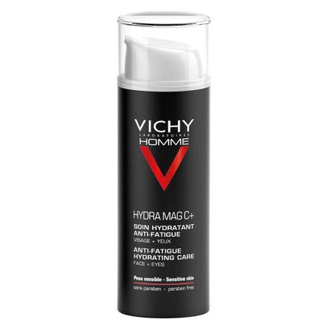 Vichy Homme Хидратиращ и укрепващ крем за лице и очи за мъже x50 мл