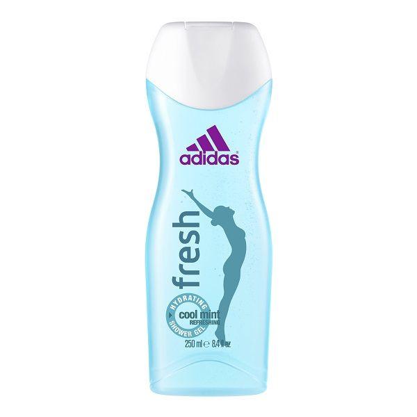 Adidas Fresh Хидратиращ душ гел за жени с екстракт от мента х250 мл
